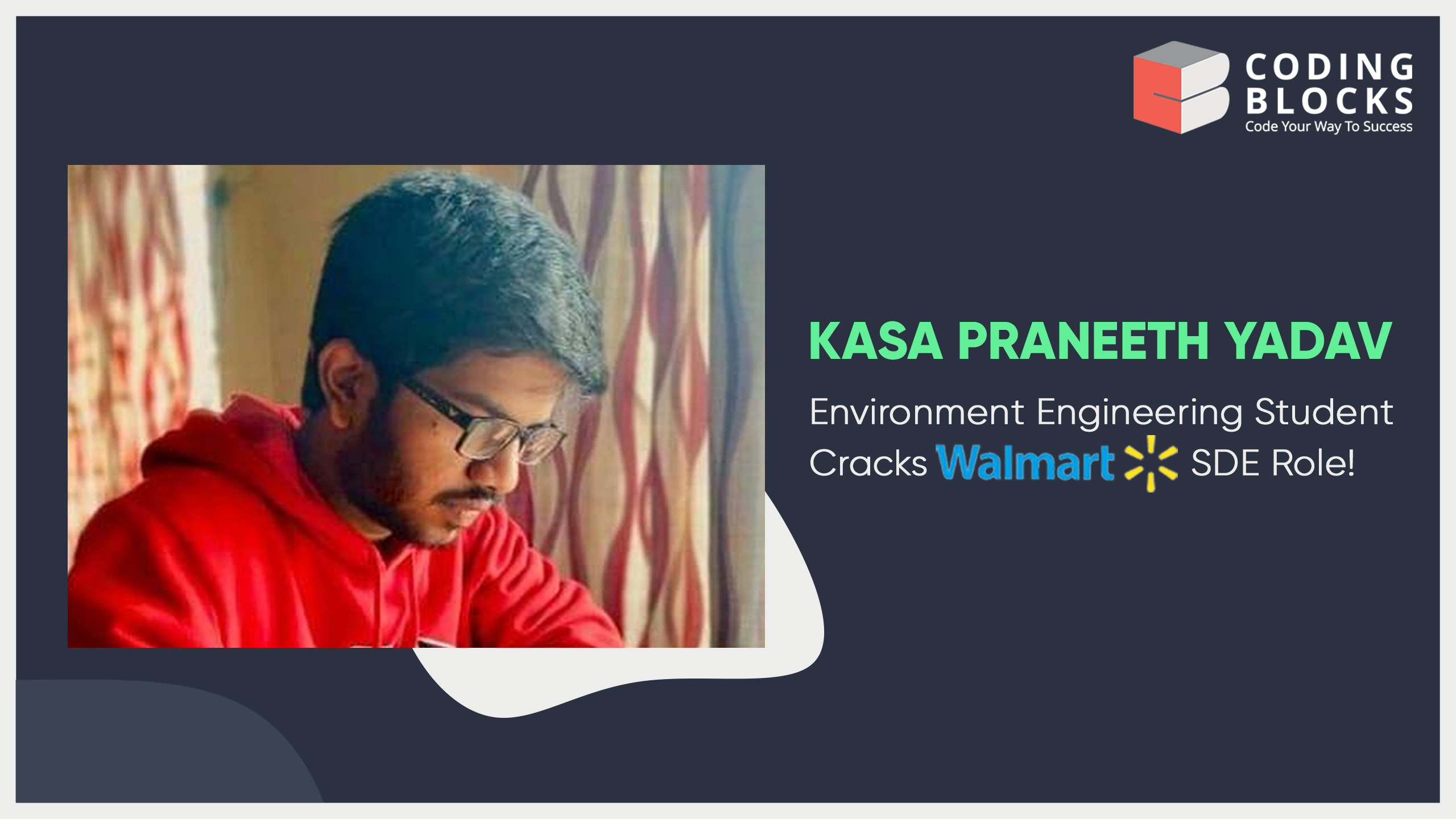 Environment Engineering Student Cracks Walmart SDE  Role - Know how ISM Dhanbad student made it possible!